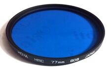 Hoya 77mm Multi-Coated HMC 80B 80 B Conversion Glass Lens Filter 77 mm 80-B MC