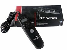 LCD Timer Remote Shutter Release for Panasonic Lumix DMC G1 GH1 FZ20 GH2 L10 G5