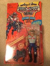 1993 Galoob Biker Mice From Mars Sports Bro's Home-Run Throttle Opened