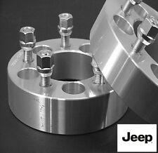 4 Pc JEEP Liberty 5x4.50 WHEEL SPACER ADAPTER 2.00 Inch With Lug Nuts # 5450E1/2