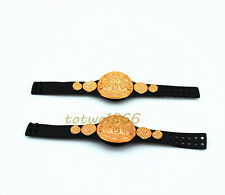2X WWE Mattel Wrestling Belt World Tag Team Championship Title Figures Accessory