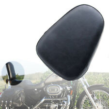 Universal Passenger Leather Sissy Bar Backrest Cushion Pad for Motorcycle Harley