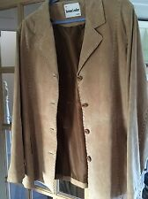 Ladies Keenan Leather Lined Jacket : Size 20 - Light Brown