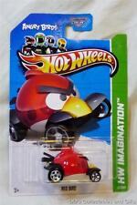 Angry Birds Red Bird Diecast Model Vehicle from Hot Wheels