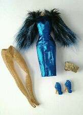 Effie Trinket Outfit Dress Shoes Barbie Doll Mattel Hunger Games Catching Fire