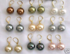 wholesale 9 Pair 10mm South Sea Shell Pearl Earring