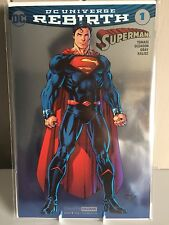 Superman Vol. 4 - #1 | Jim Lee SDCC Foil Variant | Rebirth | DC Comics 2016 !!