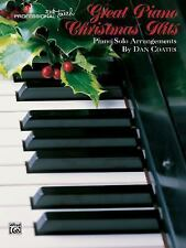 Great Piano Christmas Hits (Professional Touch), Dan Coats, New Books