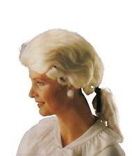 Mens Gent's Court White Best Wig Accessory for Judge Regency Fancy Dress Wig