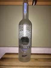 Belvedere Vodka Collectors Edition 1L Bottle - 007 James Bond Spectre Movie