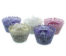 30 Piece Butterfly Cupcake Wrapper Decoration Set Edible with 3D Butterflies