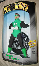 GREEN LANTERN Super Heroes Silver Age Collection -1999  Poseable/Fabric Outf