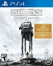 NEW Star Wars: Battlefront -Ultimate Edition (Sony PlayStation 4) w/ V R Mode