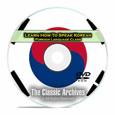 Learn How To Speak Korean, Fast & Easy Foreign Language Training Course, DVD E05