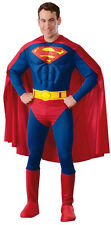 Deluxe Muscle Chest Superman Costume-Small ( Fits Jacket Size 34-36 )