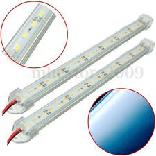 2x 12V 30cm 21 leds SMD 5630 Rigid Strip Light Bar+ Aluminium profile Cold White