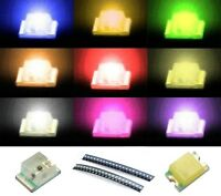 S942 Sortiment 90 Stk. SMD LEDs 0805 rot gelb grün weiß blau orange pink ww lila
