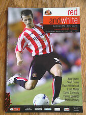 24/02/2007 Sunderland Vs Derby County Championship Football Match Programme