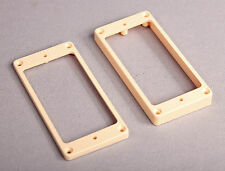 Humbucker Pickup Rings Angled and FLAT Bottom CREAM COLOR