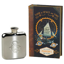 Ted Baker - Voyager's Hip Flask in Book Style Presentation Gift Box
