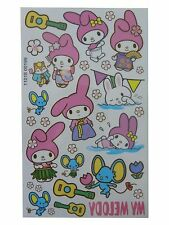 KIDS Temporary Tattoo SWEET BUNNY Great for Party Bags 9,5 x 16cm