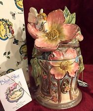 LAMPE BERGER STYLE FRAGRANCE LAMP FAIRY BUTTERFLY NEW IN BOX GOLDMINC RETIRED
