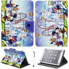 NEW Flip PU Leather Wallet Card Stand Case Cover Strap For 7'' 7 Inch PC Tablet