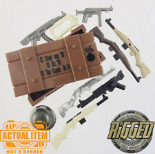 "Brickforge German ""Weapons Crate"" Accessory Pack for Lego Minifigures WW2 NEW"