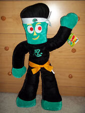 Ninja Gumby Plush --NEW WITH TAGS!!  27""