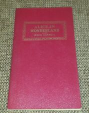 Alice in Wonderland, by Lewis Carroll, Award Books, Classics, Leatherette Finish