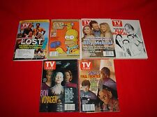 Set 6 TV GUIDE'S MAGAZINES English, and Special Issue from 2005
