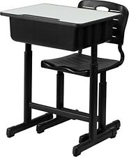 Student Desk Computer Study Laptop Table Kids School Dorm Furniture With Chair