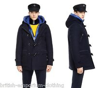 MARINA YACHTING 3in1 Navy 100% Teflon Wool Down Padded Hooded Duffle Coat BNWT