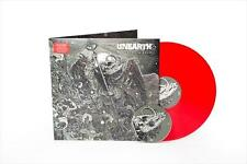 UNEARTH WATCHERS OF RULE SUPER LIMITED EDITION RED LP + CD
