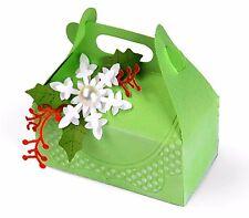Sizzix Bigz XL Carry All Box die #658190 Retail $39.99 Plus FREE embossing set!