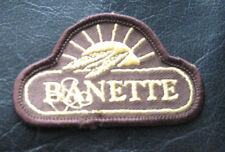 BANETTE EMBROIDERED SEW ON ONLY PATCH FRENCH BREAD COMPANY FRANCE
