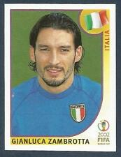 PANINI KOREA/JAPAN WORLD CUP 2002- #465-ITALIA-ITALY-GIANLUCA ZAMBROTTA