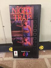 Night Trap (3DO, 1993) Game/Box/Manual Complete CIB