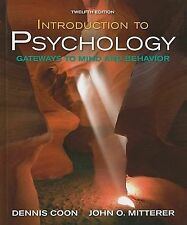 Introduction to Psychology by Dennis Coon, John Mitterer