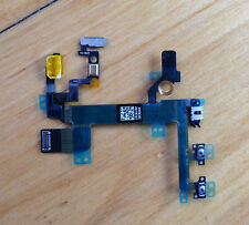 Power Button Switch On/Off Volumn Control +/- Flex Cable For iPhone 5S