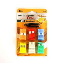 Intelligente KFZ Sicherungen mit STATUS-LED Satz 43 Stück + Abzieher ATP 5 - 30