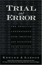 Trial and Error: The American Controversy Over Creation and Evolution-ExLibrary