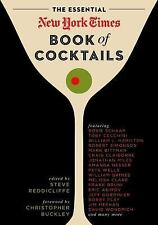 The Essential New York Times Book of Cocktails by Steve V. Red (FREE 2DAY SHIP)