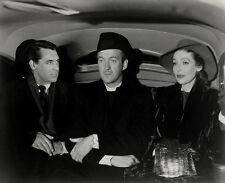 David Niven, Loretta Young & Cary Grant UNSIGNED photo -B2450- The Bishop's Wife