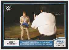 2014 Topps WWE Road to Wrestlemania #28 Cody Rhodes