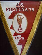 GAGLIARDETTO A.S. FORTUNA '78 CALCIO pennant wimpel fanion