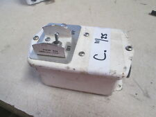 Voltage Regulator Switch & Indicator Light, Armored Vehicle? APC? Military