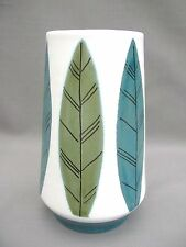 A 1950s Marion Koninklyk Gouda Royal Holland Art Vase  very Contemporary design!