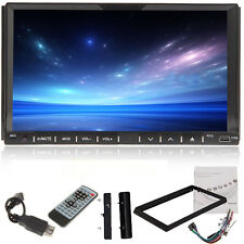 "Auto Car Stereo Audio DVD Player 7""Touch Screen 2Din In Dash Radio CD SD MP3 USB"
