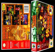 Donkey Kong 64 - N64 Reproduction Art Case/Box No Game.